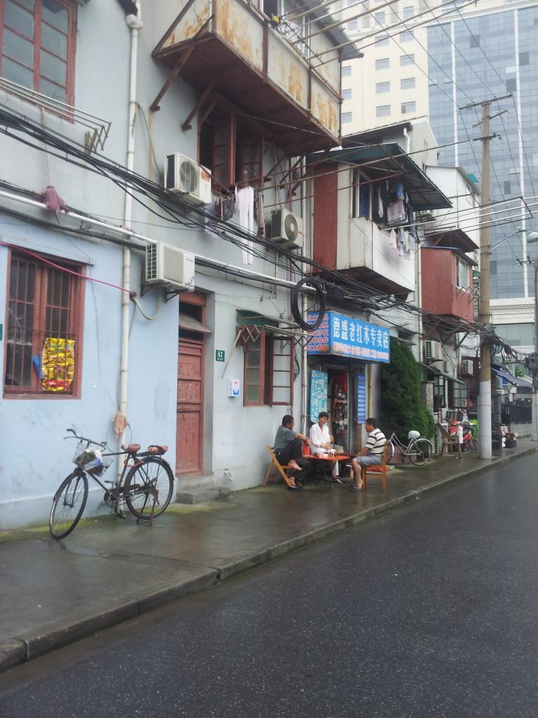 Old Shanghai Street Scenes