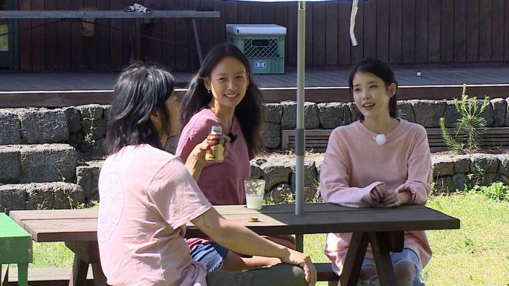 Sang Soon Hyori and Ji Eun from Hyori's Bed and Breakfast